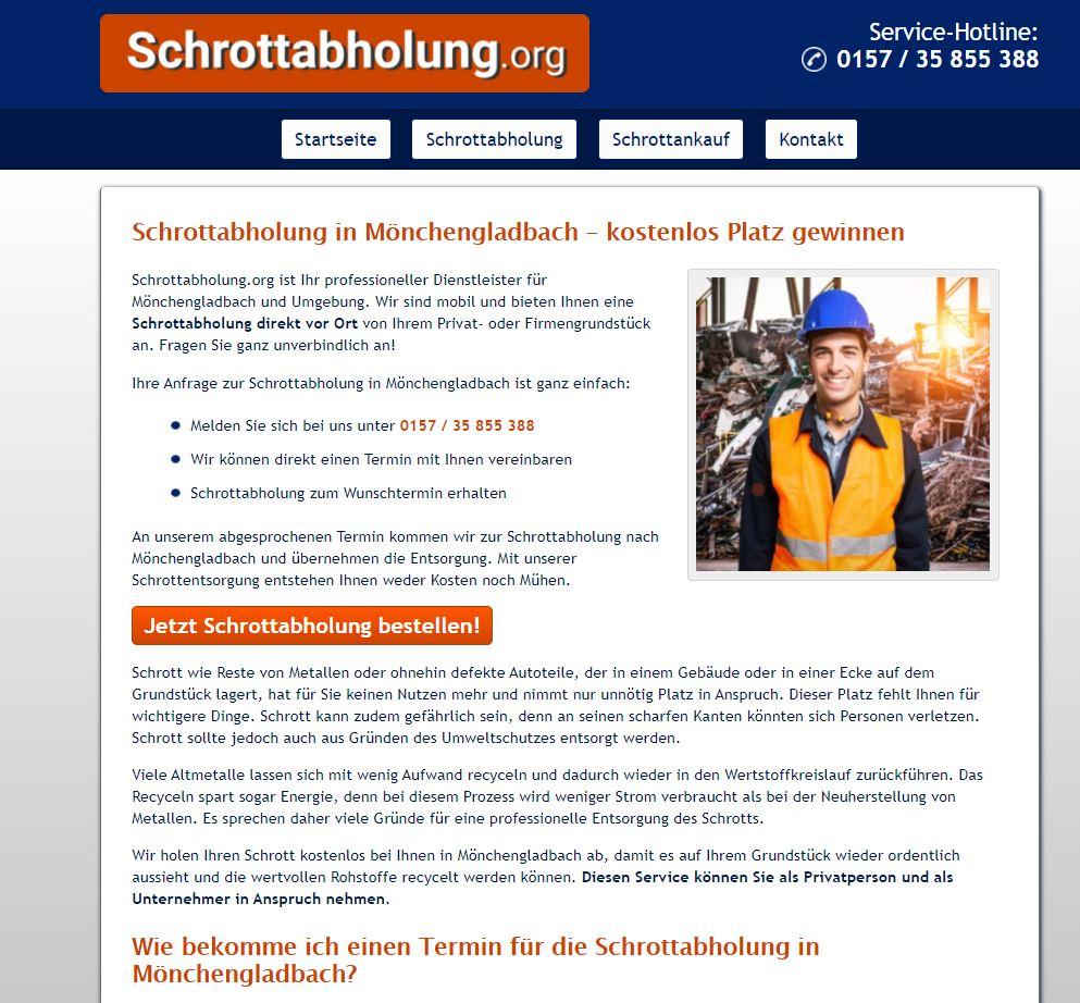 Schrottabholung Mönchengladbach