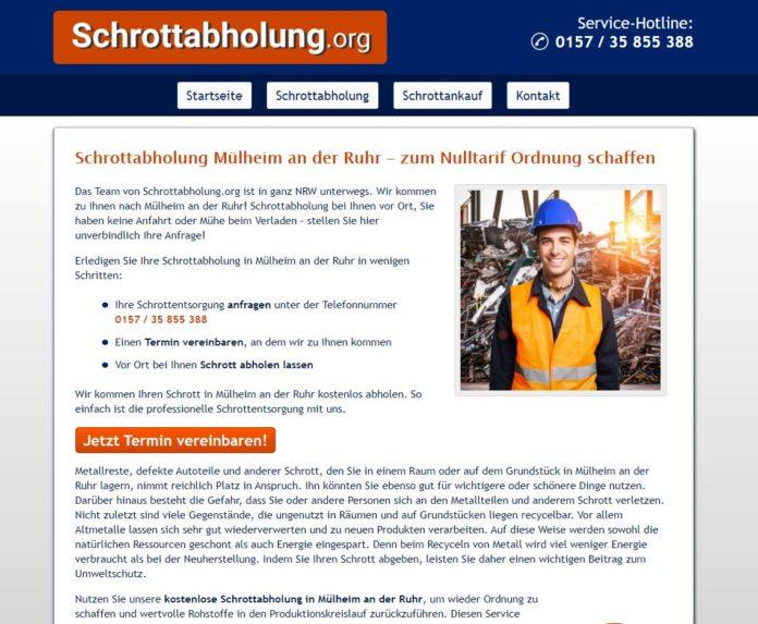 Schrottabholung Mülheim