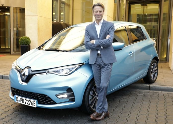 Der Renault ZOE war im Jahr 2020 erneut Deutschlands Elektroauto Nummer eins