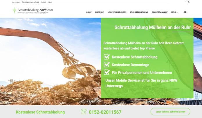 Schrottabholung Mülheim an der Ruhr - Ankauf von Altmetall zu fairen Preisen