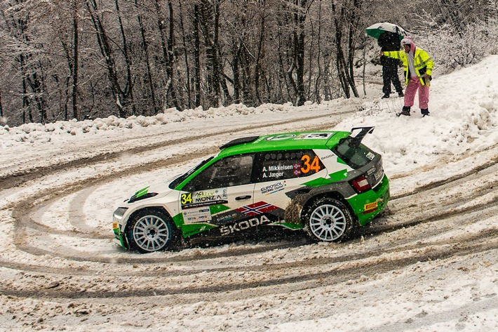 Rallye Monte Carlo: SKODA FABIA Rally2
