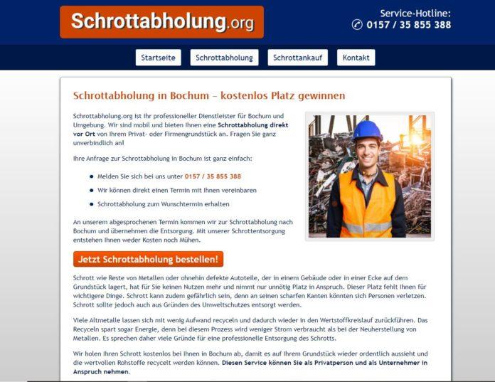 Ihr zuverlässiger Schrotthändler in Bochum und Umgebung
