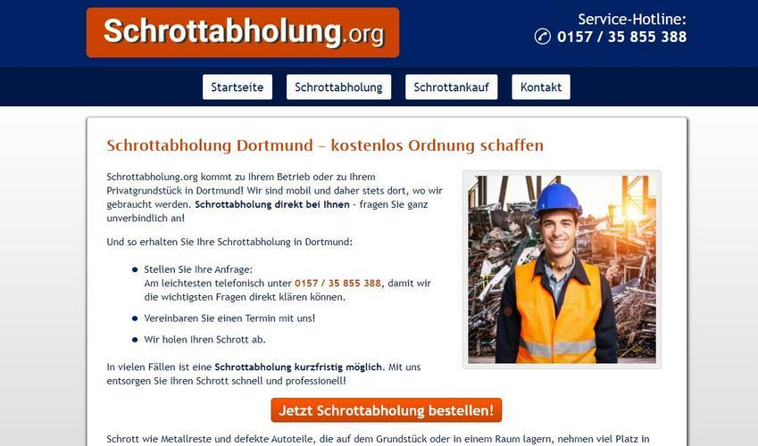 Schrottabholung Dortmund: kompetent, schnell und kundenorientiert