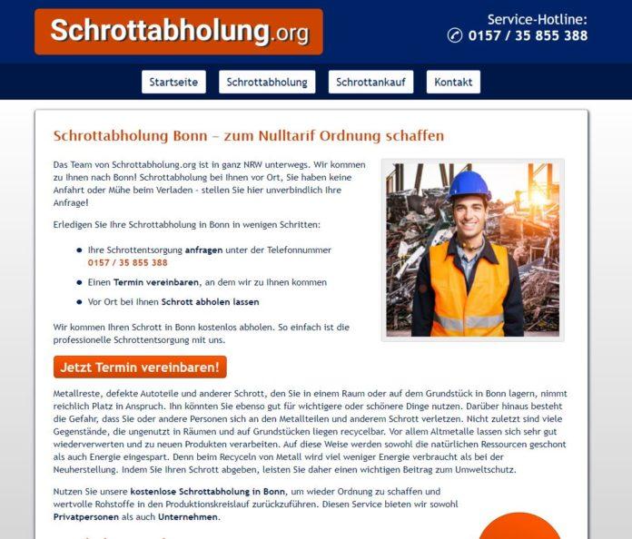 Partner rund um das Thema Schrottankauf und Schrottabholung Bonn