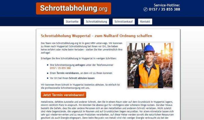 Schrottabholung Wuppertal
