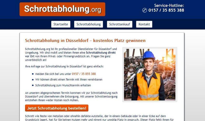 Die Schrottabholung Düsseldorf arbeitet hochprofessionell, um Ressourcen dem Rohstoff-Kreislauf verlustfrei wieder zuzuführen