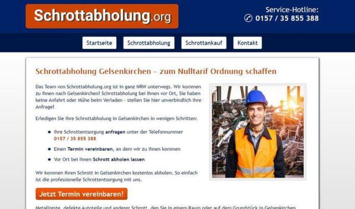Altmetall loswerden leicht gemacht mit der Schrottabholung Gelsenkirchen