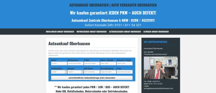 Auto verkaufen in Oberhausen - Autoankauf leicht gemacht