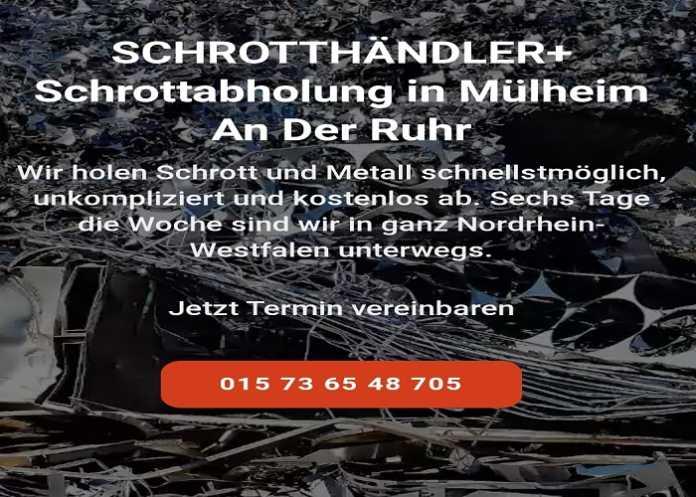 Schrottabholung Mülheim an der Ruhr