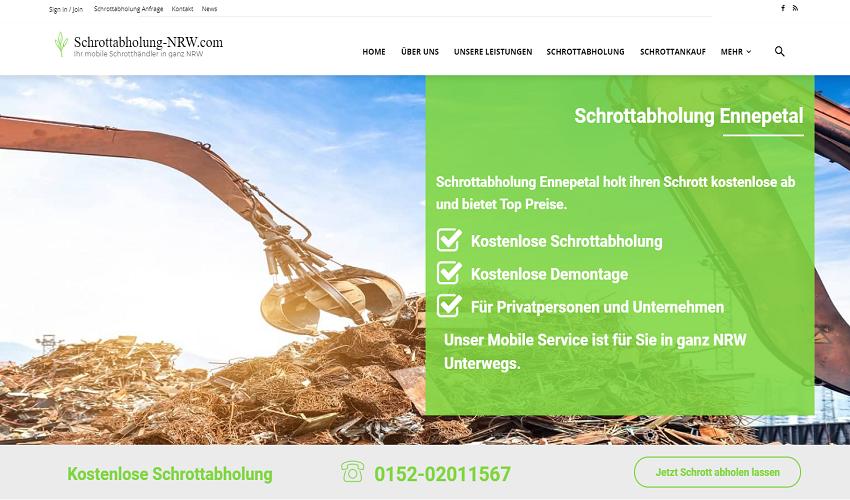 Schrottabholung Ennepetal - Ihr Professioneller Schrotthändler in Ennepetal