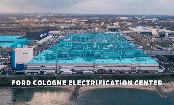 Ford investiert eine Milliarde US-Dollar und gründet europäisches Electrification Center in Köln