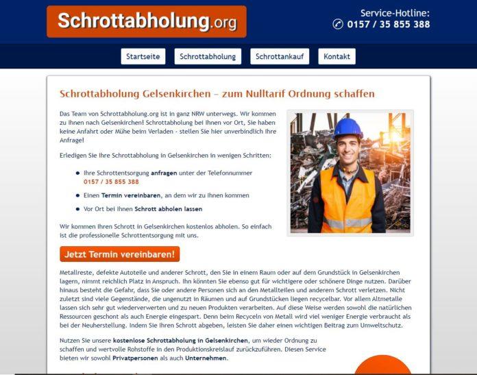Schrottabholung Gelsenkirchen
