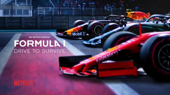 Die Programmoffensive für Sky Sport F1 geht weiter: Sky präsentiert die Netflix Doku-Serie