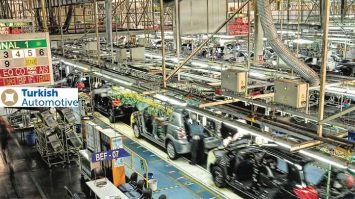 türkischen Automobil- und Zulieferindustrie