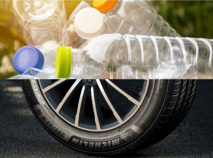 Von der Plastikflasche zum Reifen
