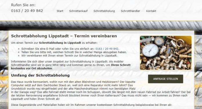 Schrottabholung Lippstadt-2226724f