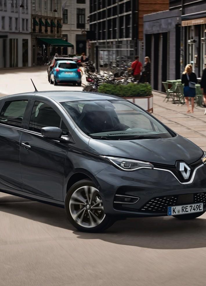 Renault Reloaded: ZOE wieder im ADAC e-Leasing ADAC SE hat den Renault ZOE E-Tech erneut im Elektroauto-Angebot