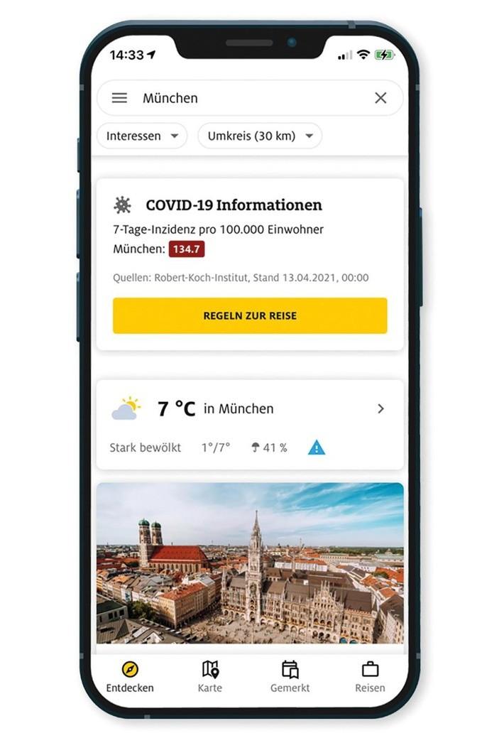 Urlaubsplanung - aber sicher: ADAC Trips-App jetzt mit Corona-Informationen