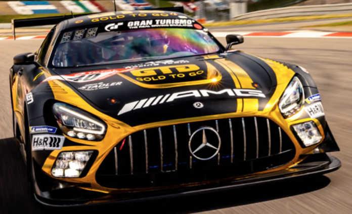 Auf Anhieb TOP 10 – GOLD-TO-GO-Mercedes beim Nürburgrennen