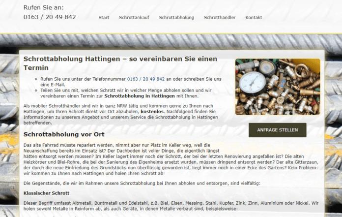Schrottabholung Hattingen-680996d9