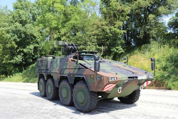 Letzter Boxer rollt vom Band Auslieferung des Transportfahrzeugs für die Bundeswehr abgeschlossen