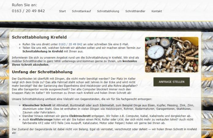 Schrottabholung Krefeld-f3a00812