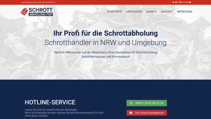Schrottabholung top-e6187626