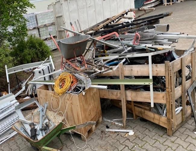 Schrotthändler in Oberhausen