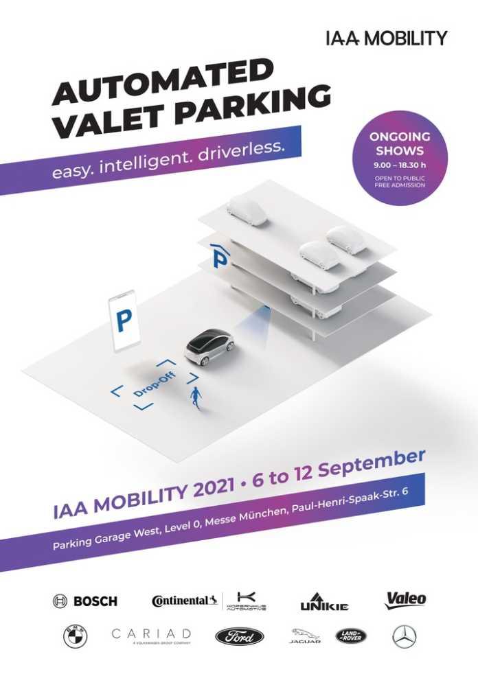 Automated Valet Parking: Projektzuschlag für die Premiere auf der IAA Mobility 2021