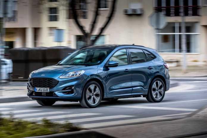 Ford Kuga Plug-in-Hybrid ist europaweiter Verkaufsschlager - fast 50 Prozent der Fahrleistung erfolgt mit Ladestrom