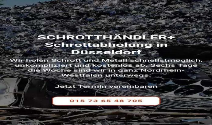 Die kostenlose Schrottabholung Düsseldorf-9371d3b9