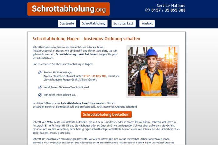 Schrottabholung.org - Schrotthändler in Hagen