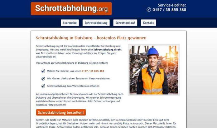 Schrotthändler Duisburg