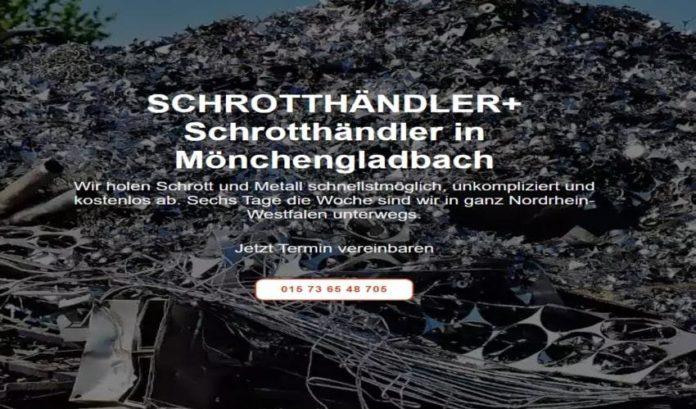 Der Schrotthändler Mönchengladbach holt Mischschrott-2ca7a260
