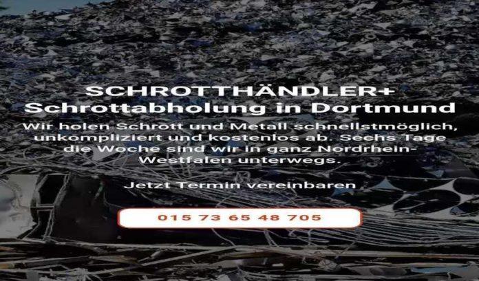 Die Schrottabholung Dortmund holt Altmetall und sonstigen Schrott-faff7d01