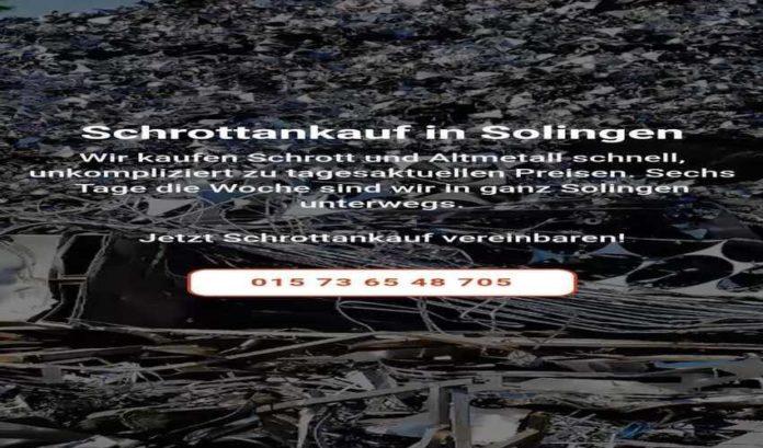 Wir Kaufen Altmetall und Schrott zu besten preise in Solingen-ac3c240d